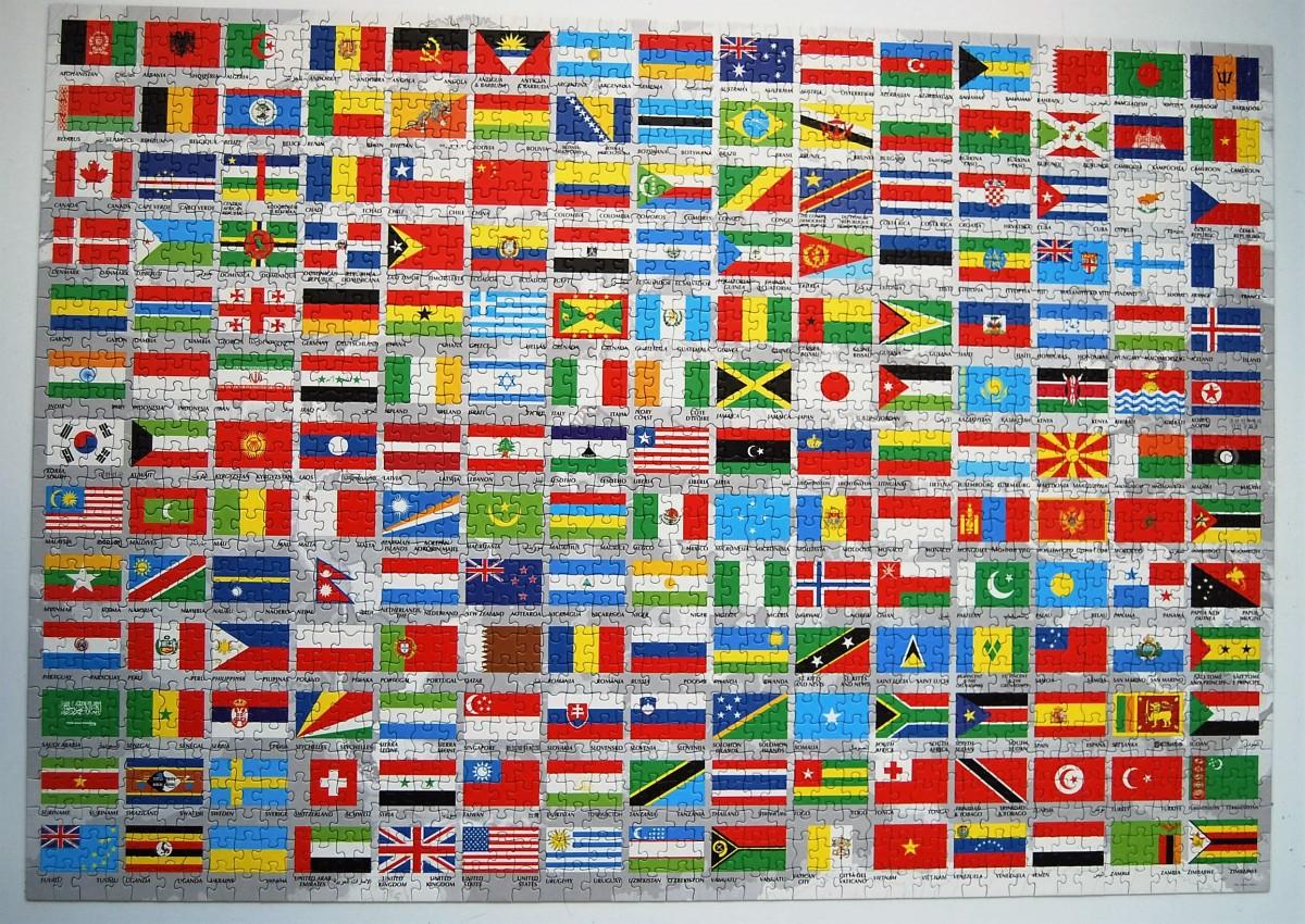 1500 – Banderas Del Mundo (Educa, 2013)